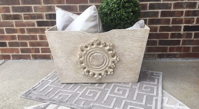 JWI Decor Container and Pillows